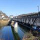 Der Eiserne Steg, die 2021 eröffnete siebte Weilburger Brücke